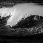 How the sea stregthens through its layers of waves