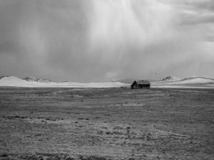 hut in the middle of nowhere
